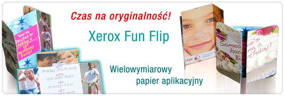 Fun Flip (perforowany papier)